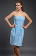 Madeirové šaty na ramínka
