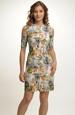Pouzdrové krátké šaty