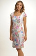 Společenské šaty s módními pruhy