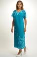 Elegantní společenské šaty pro plnoštíhlé