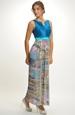 Empírové šaty s plisovanou sukní
