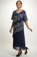 Dámské společenské šaty pro plnoštíhlé