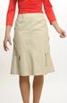Sportovní režná sukně na jaro
