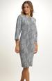 Pletené krátké šaty