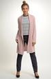 Módní elegantní pletený kabátek