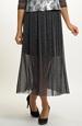 Černá společenská sukně