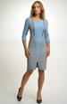 Společenské šaty z úpletu