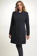 Zimní kabát z vlněného flauše