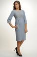 Pleteninové šaty zdobené vzorem na sedle