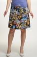 Dámská sukně se vzorem