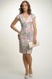 Šaty s úžasným pastelovým vzorem květů