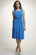 Pleteninové elegantní šaty s nabíráním