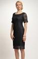 Pouzdrové šaty černé