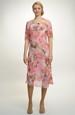 Elegantní společenské šifonové šaty