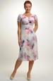 Letní šaty s jemným vzorem