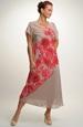 Dámské letní šaty s velkými květy
