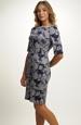 Společenské pouzdrové šaty