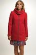 Dámský krátký kabát na zip