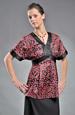 Dámská tunika ve stylu kimona