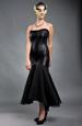 Černé plesové šaty - sleva
