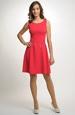 Červené dívčí šaty do tanečních 2016
