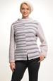 Silný pletený svetr z bouclé s angorou