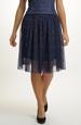Krátká tylová sukně