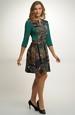 Krátké šaty z pleteniny
