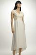 Elegantní svatební šaty s krajkovým sedlem