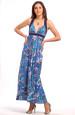 Luxusní dlouhé letní šaty