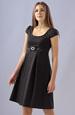 Empírové šaty se sklady