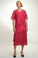 Společenské šaty vel. 48 až 52