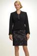 Moderní sako černé sako