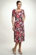 Společenské šaty na léto pro plnoštíhlé