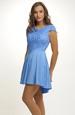 Modré šaty vhodné na svatbu