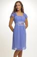 Krátké jednoduché elegantní šaty