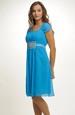 Společenské šaty s řasením