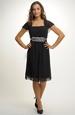 Společenské šaty pro plnoštíhlé