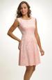 Šaty s kolovou bohatou sukní