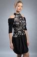 Extravagantní krátké společenské šaty