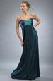Elegantní plesové šaty s výšivkou na živůtku