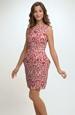 DÍívčí společenské šaty na širší ramínka