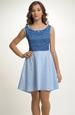 Krátké společenské šaty s živůtkem
