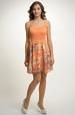 Dívčí krátké letní šaty