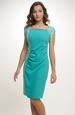 Elastické krátké šaty s nabíráním