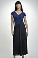 Černé večerní šaty, vel. XL, XXL