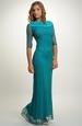 Elegantní dámské dlouhé večerní šaty