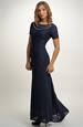 Elegantní dlouhé plesové šaty