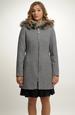 Elegantní dámské paleto s kapucí