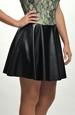 Kolová sukně mini